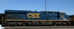 CSX 761 sits with other GE's in the yard