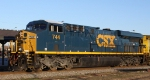 CSX 744 has yet to receive its lightning bolt decals
